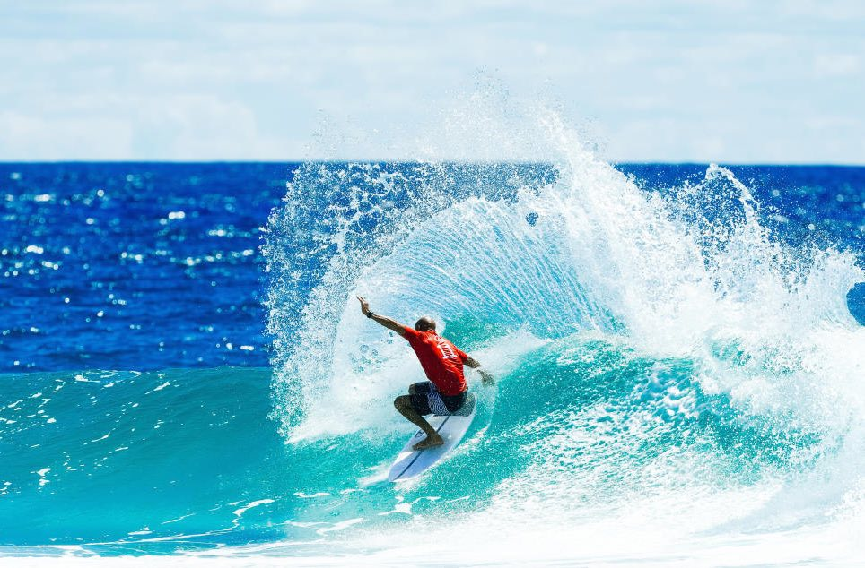 Was Slater using the same Gamma Surfboard at 2017 Quiksilver Pro Gold Coast?